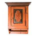 Pennsylvania Painted Wall Cupboard